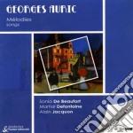 Auric Georges - Musica Vocale: Alphabet, Les Joues En Feu, 3 Interludes, 6 Poemi Di Paul Eluard  - Jacquon Alain  Pf/sonia De Beaufort, Mezzosoprano, cd musicale di Georges Auric