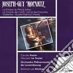 Ropartz Joseph-guy - La Chasse Du Prince Arthur, Quatre Odelettes, La Cloche Des Morts cd musicale di Joseph-guy Ropartz