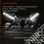 Due notturni, adagio per grande orchestr cd musicale di Jean Derbes