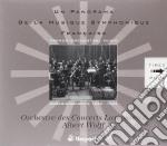 Panorama della musica sinfonica francese cd musicale di Miscellanee