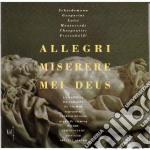 Composizioni Di Allegri, Monteverdi, Frescobaldi, Lotti, Scheidemann, Gasparini, cd musicale
