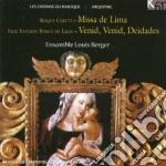 LES CHEMINS DU BAROQUE: ARGENTINA cd musicale