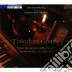 Gouvy Théodore - Sonata Per Violino Op.61, Duetti Per Pianoforte E Violino Opp.34 E 50 cd musicale di ThÉodore Gouvy