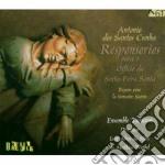 Santos Cunha Antonio Dos - Responsorios Para O Officio Da Sexta-fera Santa cd musicale di SANTOS CUNHA ANTONIO