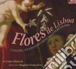 FLORES DE LISBOA (CANþOES, VILLANCICOS, cd musicale