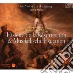 Schutz Heinrich - Storia Della Resurrezione Swv 5o, Musikalische Exequien cd musicale di Heinrich SchÃœtz