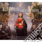 Missa benedicta & antiennes votives cd musicale di Nicholas Ludford