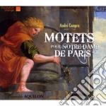 MOTETS POUR NOTRE-DAME DE PARIS           cd musicale di AndrÉ Campra