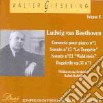 Gieseking Walter Vol.6  - Gieseking Walter  Pf/philharmonia Orchestra, Rafael Kubelik Dir. cd musicale