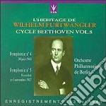 BEETHOVEN: SINFONIA N.4 E N.5 - CICLO BE cd musicale