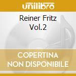 REINER FRITZ VOL.2 cd musicale
