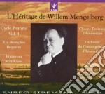Brahms: Requiem Tedesco - Ciclo J.brahms Vol.4  - Mengelberg Willelm Dir  /jo Vincent Sop, Max Kloos Bar, Coro Tonkunst Di Amsterdam, Orchestra Del Co cd musicale