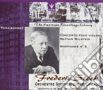 Tchaikovsky - Violin Concerto X Vl Op.35, Sinfonia N.5 Op.64 - Frederic Stock / Nathan Milstein cd musicale