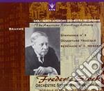 Brani Di Brahms: Ouverture Tragica Op.81, Sinfonia N.3 Op.90, Serenata N.1 Op.11  - Stock Frederic Dir  /chicago Symph. O cd musicale