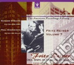 Reiner Fritz Vol.7  - Reiner Fritz Dir  /orchestra Sinfonica Della N.b.c, Os Di Pittsburgh - Early North American Recordings cd musicale