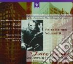 Reiner Fritz Vol.8  - Reiner Fritz Dir  /orchestra Sinfonica Di Pittsburgh E Della Cbs - Early North American O.r. cd musicale