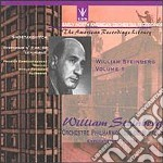 Steinberg William Vol.1  - Steinberg Pinchas  Pf/orchestra Filarmonica Di Buffalo cd musicale