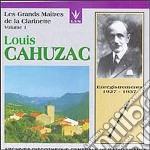 CAHUZAC LOUIS VOL.1 cd musicale