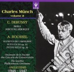 Munch Charles Vol.8 /o De La Soc De Concerts, London Philharmonic O. cd musicale