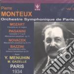 Monteux Pierre Vol.3 /y.menuhin Vl. cd musicale