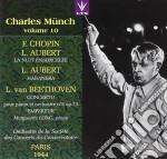 Munch Charles Vol.10 /marguerite Long Pf, Orch. De La Soc. Des Concerts cd musicale