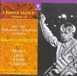 MUNCH CHARLES VOL.12 cd musicale