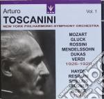 TOSCANINI ARTURO VOL.1 cd musicale