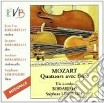 QUARTETTI X FL E ARCHI (COMPLETO) cd musicale di Wolfgang Amadeus Mozart