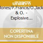 EXPLOSIVE DRUMS cd musicale di JONES/FRANCIS/JACKSO