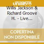 LIVE ON STAGE cd musicale di JACKSON/GROOVE