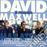 David Maxwell & Friends - Max Attack cd musicale di MAXWELL DAVID & FRIE