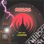 Magma - Bbc 1974 Londres cd musicale di MAGMA