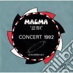 Magma - Les Voix Concert 1992 cd musicale di MAGMA