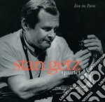LIVE IN PARIS cd musicale di GETZ STAN QUARTET