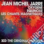 OXYGENE/EQUINOX/LES CHANTS MAGNETIQUES (BOX 3CD) cd musicale di Jean-michel Jarre