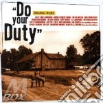 Do your duty cd musicale di Artisti Vari