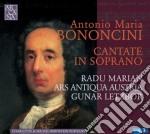 Bononcini - Cantate cd musicale di Bononcini antonio maria