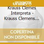 KRAUSS CLEMES INTERPRETA cd musicale