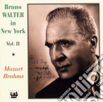 BRUNO WALTER IN NEW YORK VOL.II cd musicale