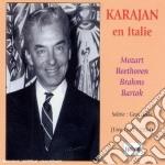 HERBERT VON KARAJAN IN ITALY cd musicale