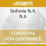 SINFONIA N.4, N.6 cd musicale di Ciaikovski pyotr il'