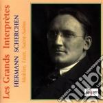 KINDERTOTENLIEDER, LIEDER EINES FAHRENDE  cd musicale di Hermann Scherchen