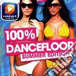 100% DANCEFLOOR - SUMMER EDITION          cd musicale di Artisti Vari