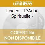 L'aube spirituelle cd musicale