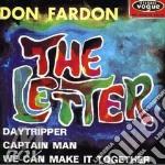 Don Fardon - The Letter cd musicale di FARDON DON