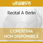 RECITAL A BERLIN cd musicale di SPOTNICKS
