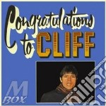 CONGRATULATIONS TO CLIFF cd musicale di RICHARD CLIFF