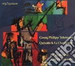 Telemann Georg Philip - Quixotte & La Changeante cd musicale di Telemann georg phili