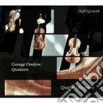 Quartetto per archi n.2 op.10, n.3 op.9, cd musicale di George Onslow