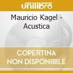 Acustica cd musicale